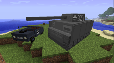 Мод на военную технику для minecraft 1.6.1