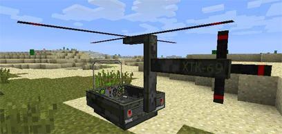 Мод на вертолёт для minecraft 1.5.2